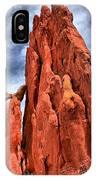 Red Rocks Against Blue Skies IPhone Case