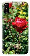 Red Rose. IPhone X Case