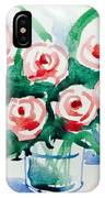 Red Rose For Her IPhone Case
