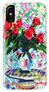 Red Roses In Water IPhone Case