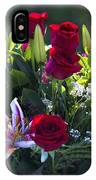 Red Roses Say I Love You IPhone Case