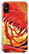 Red Rosey IPhone Case