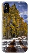 Red Sandstone Road In October IPhone Case