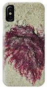 Red Seaweed IPhone Case