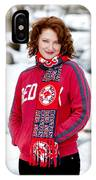 Red Sox Girl IPhone Case