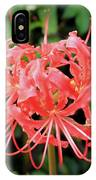 Red Spider Lily IPhone Case