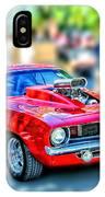 Red Sport Car IPhone Case