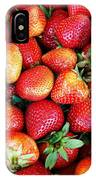 Red Strawberries IPhone Case