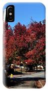 Red Street IPhone Case