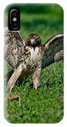 Red-tailed Hawk & Gopher Snake IPhone Case
