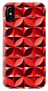 Red Textured Wall IPhone Case