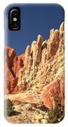 Red To White To Blue IPhone Case