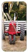 Red Tractor Ready To Roll IPhone Case