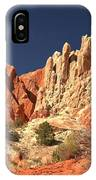 Red White And Blue Sky IPhone Case