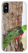 Red-winged Parrot IPhone Case