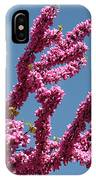 Redbud Against Blue Sky IPhone Case