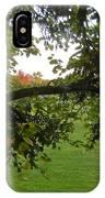 Redbud Tree In Autumn IPhone Case