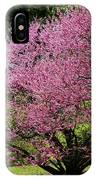 Redbuds In Action IPhone Case