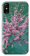 Redbuds Over San Antonio River IPhone Case