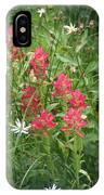 Redish Paintbrush IPhone Case