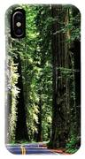 Redwood Highway IPhone Case