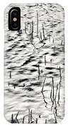 Reeds In Ripples IPhone Case