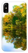 Reflected Autumn Glory IPhone Case