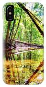 Reflected Forests IPhone Case