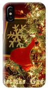 Reflecting Christmas 2013 IPhone Case