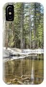 reflecting pond 2 Carson Spur IPhone Case