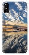 Reflecting Sunset IPhone Case