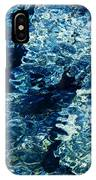 Reflection In Blue Water  IPhone Case