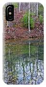 Reflection In The Lake IPhone Case