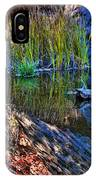 Reflection In The Water IPhone Case