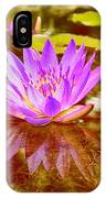 Reflection Of Beauty IPhone Case
