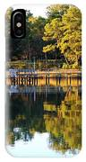 Reflection Of Trees IPhone Case