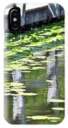 Reflection On The Pond IPhone Case