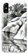 Reflections At Elephant Rocks State Park No I102 IPhone Case