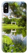 Reflections In A Tranquil Pond IPhone Case