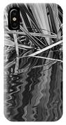 Reflections In Black And White IPhone Case