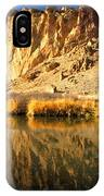 Reflections In The Crooked River IPhone Case