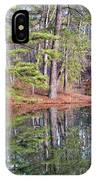 Reflections In The Pines IPhone Case