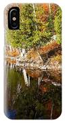 Reflections In Water IPhone Case