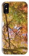 Reflections Of A Colorful Fall 002 IPhone Case