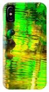Reflections Of A Mallard Duck IPhone Case