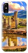 Reflections Of Past Glory IPhone Case