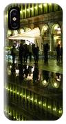 Reflections Of Saint Mark's Square-night IPhone Case