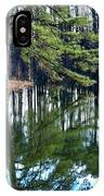 Reflections Of The Pine IPhone Case