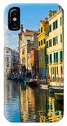 Reflections Of Venice II IPhone Case