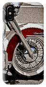 Reflections On A Motorcycle IPhone Case